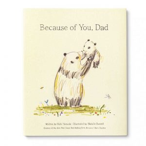 book because of you dad