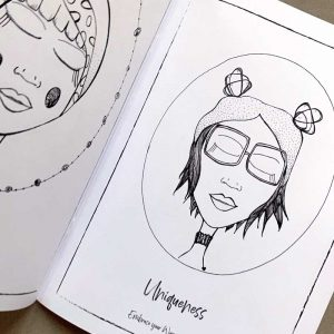 colouring book inside