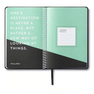 Travel journal Everywhere you go