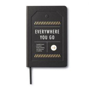 Everywhere you go travel journal