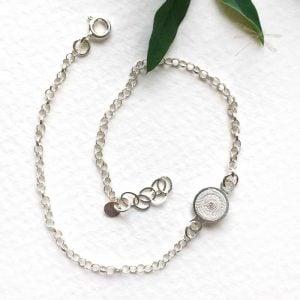 silver bracelet filigree