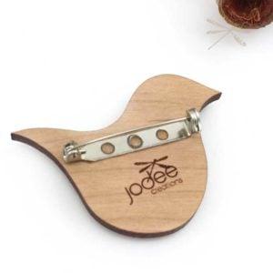bird brooch zen
