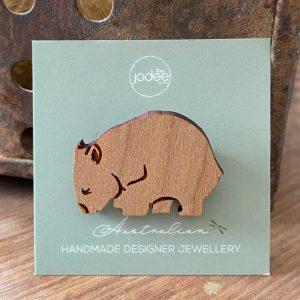 wombat brooch