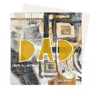 Dad Grandad Greeting Card