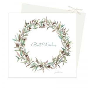 Eucalyptus leave wreath