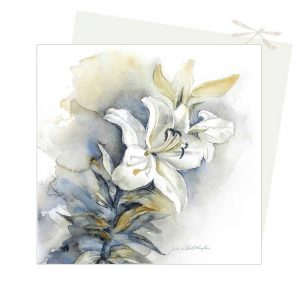 lilliums greeting card