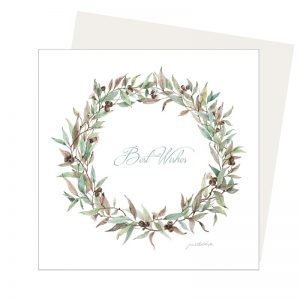 Australian Wreath Card