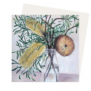 Banksia card