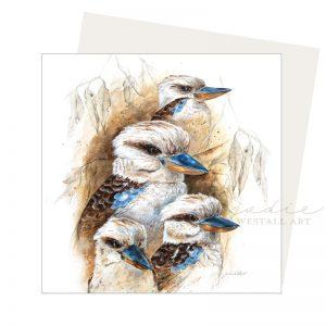 kookaburra Study Card