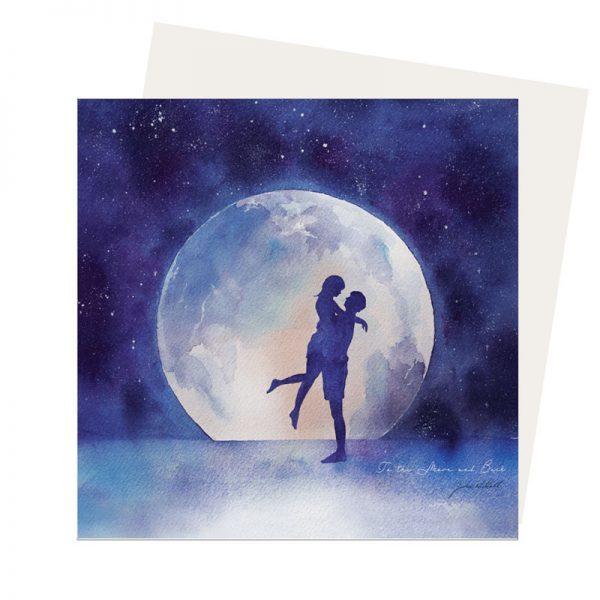 Moon Lover card
