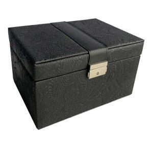 classic black jewellery box