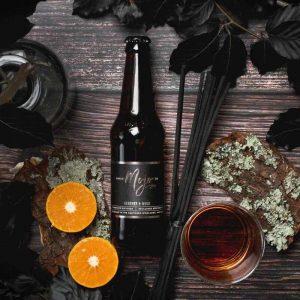 leather beer bottle diffuser