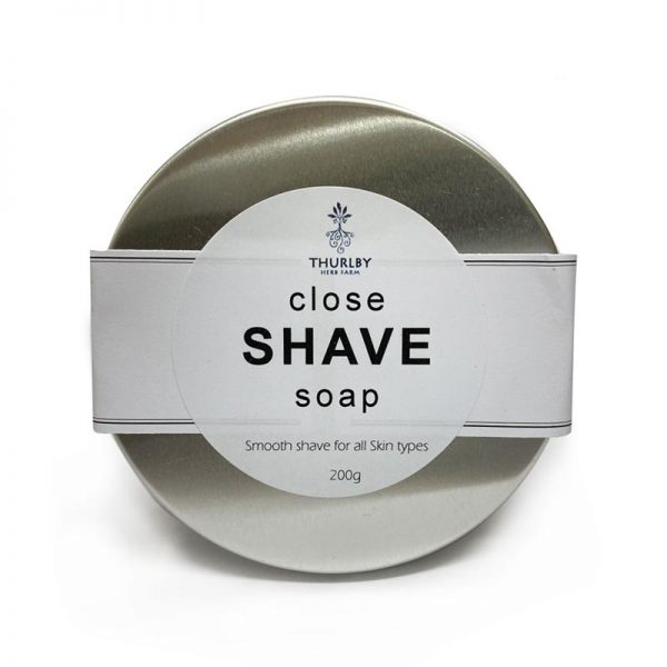 Close Shave soap tin
