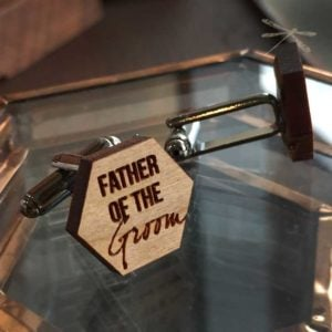Father of the Groom cufflink