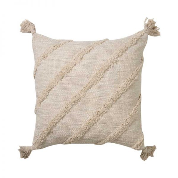 Boho coastal cushion