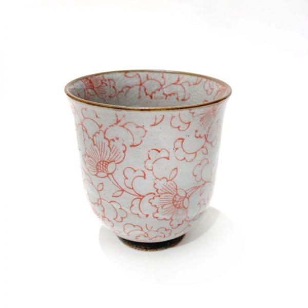 red Kusa Tea Cup straight