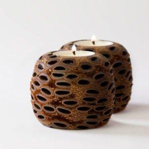 ball tea light candle