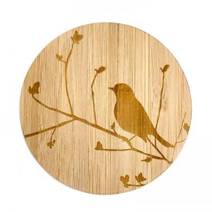Bamboo Coaster Bird