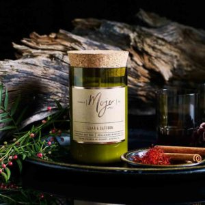 Cedar Saffron candle