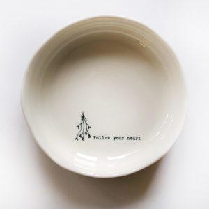 wobbly dish follow your heart