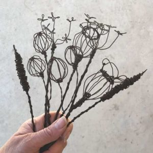 mixed wire flower