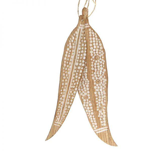 indigenous leaf decoration