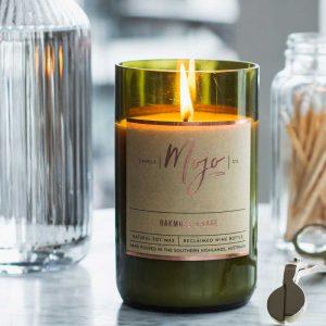mojo candles oak moss