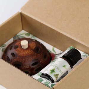 peppermint aroma pod gift set