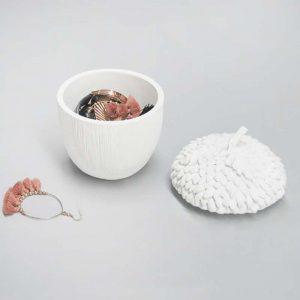 white secret acorn dish