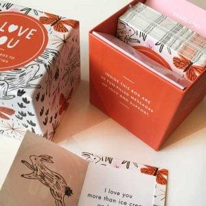 inspirational cards I love you box set
