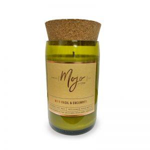MojoWild Basil Cucumber candle