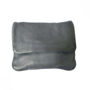 carbon leather purse