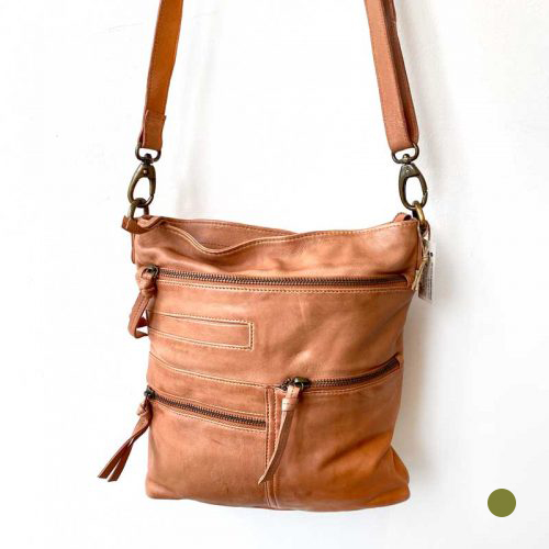 leather tote bag blush