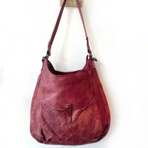 desert Rose leather bag