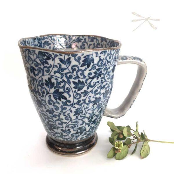 Japanese Mug Blue