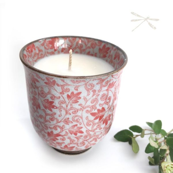 Japanese Tea Cup Candle