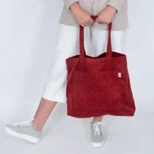 Jumbo Cord Tote bags
