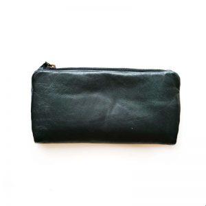 Leather Purse Black
