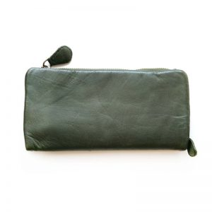 Leather Purse Green