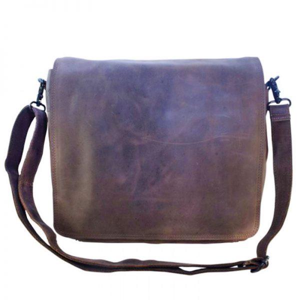 satchel / messenger bag leather