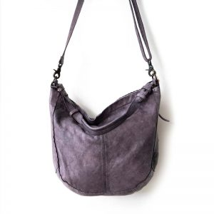 leather Slouch bag back