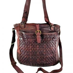 leather Weave Tote bag