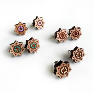 lotus studs all colour