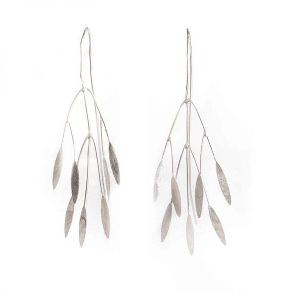 Autumn leaves statement earrings