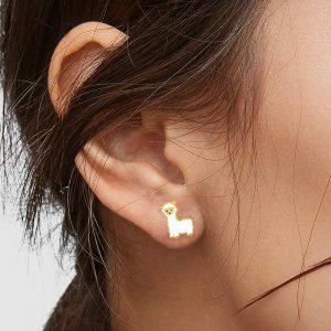 llama earring