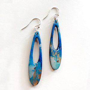 Blue earring B
