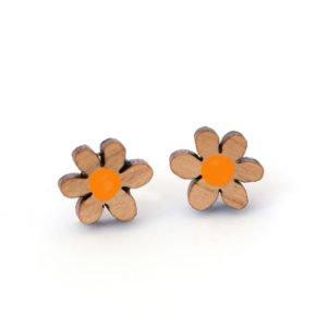Daisy Studs orange