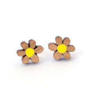Daisy Studs yellow