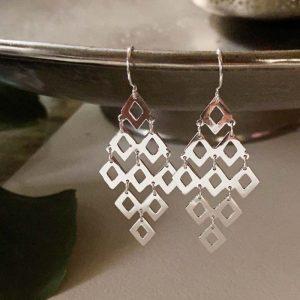diamond Statement earring