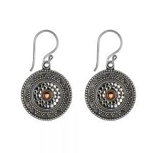 mandala tribal earrings